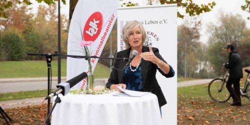 Einweihungsfeier Gedenkstätte - Rede Frau Schmidthals-Pluta